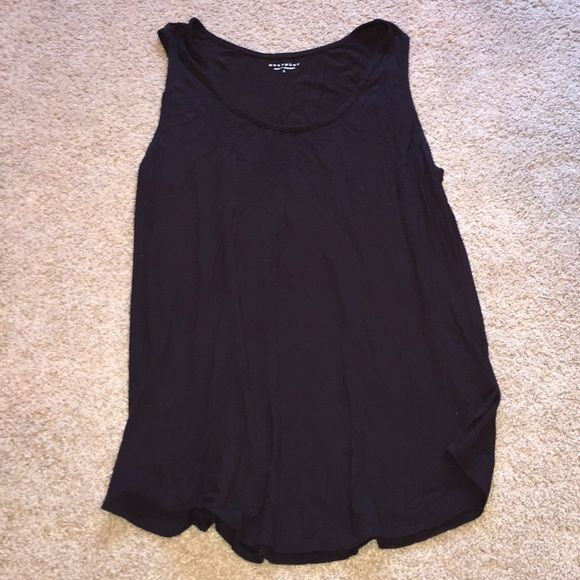 Black tank top size Extra Large Black tank top size Extra Large. Soft and comfortable! Great layering piece! Metaphor Tops Tank Tops