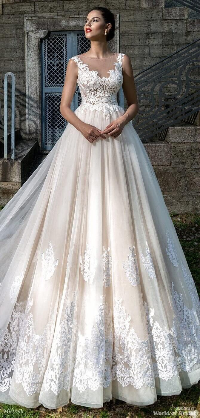 Mistrelli wedding dresses black pearl collection bridal