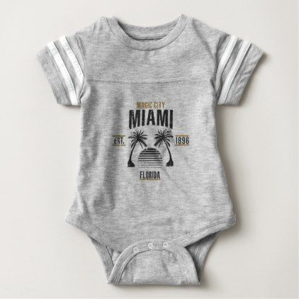 Miami baby bodysuit baby bodysuit miami baby bodysuit negle Image collections