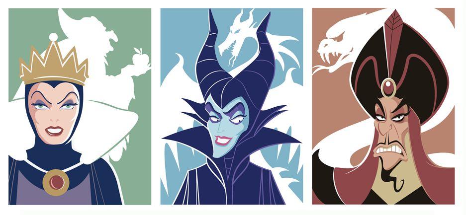 Disney Villain Portraits By Jerrod Maruyama
