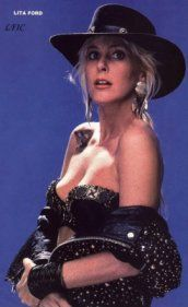 Lita Ford Today Not Only Was She Hot Still Is To A