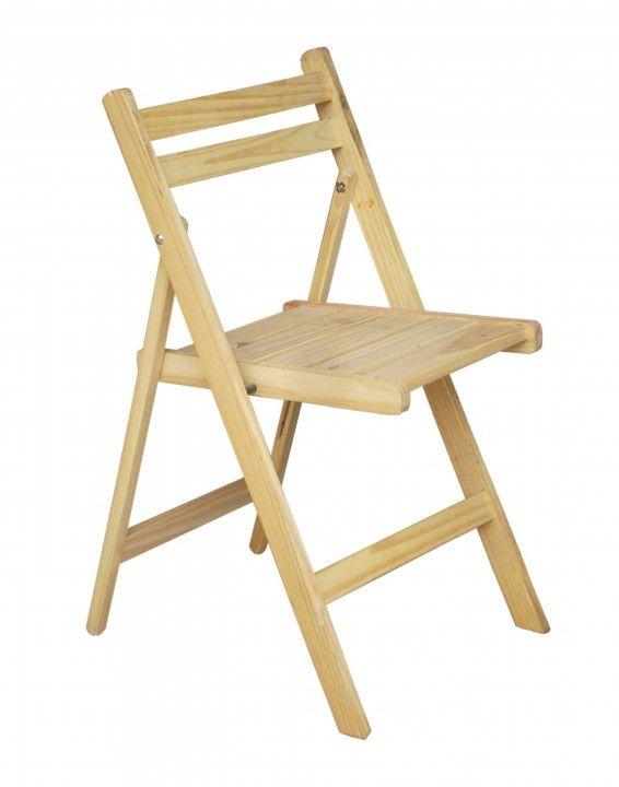 Silla plegable pino reforzada compras sillas plegables for Compra de sillas plegables