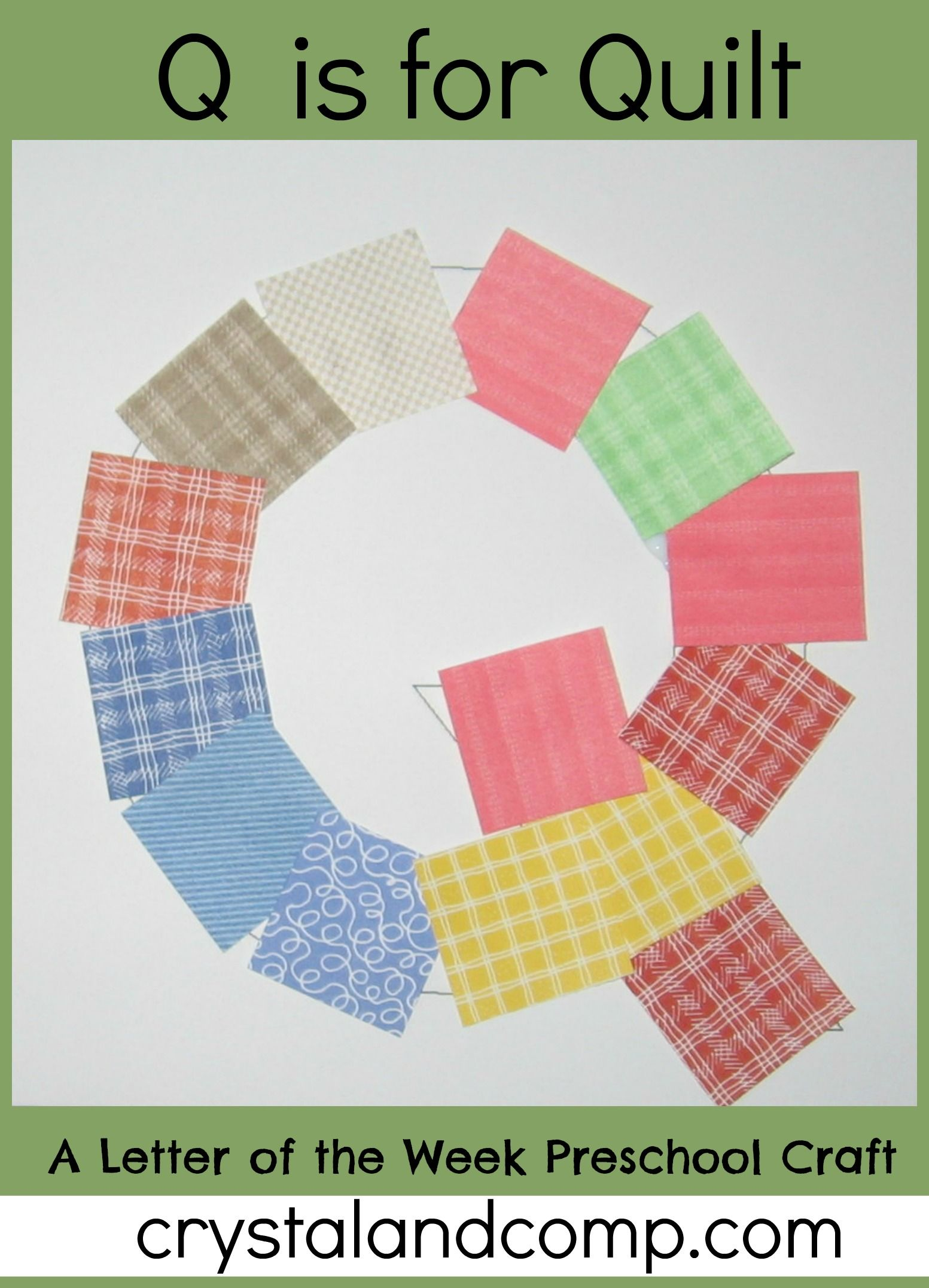 Letter of the week quilt q