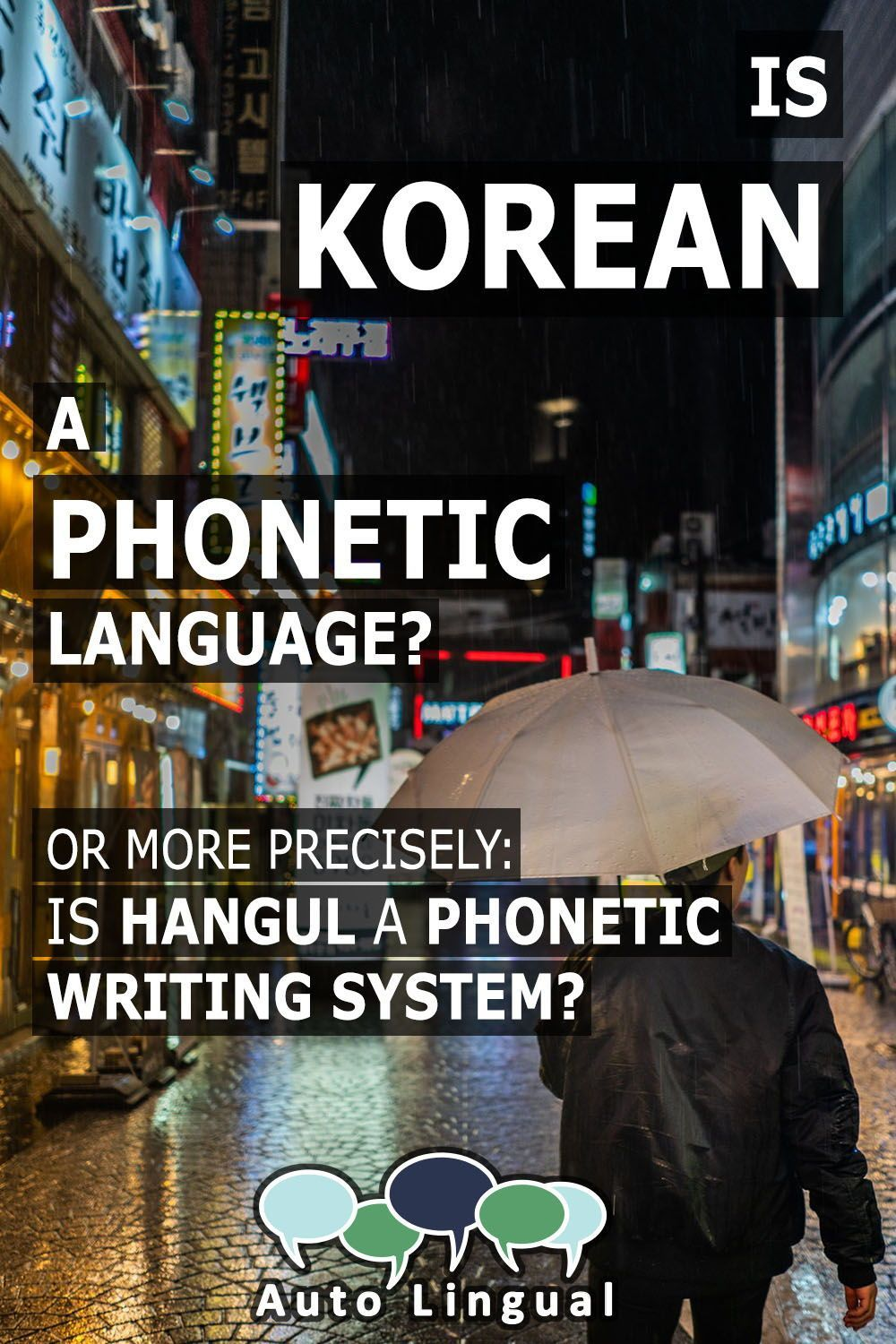 Is korean a language or is hangul a