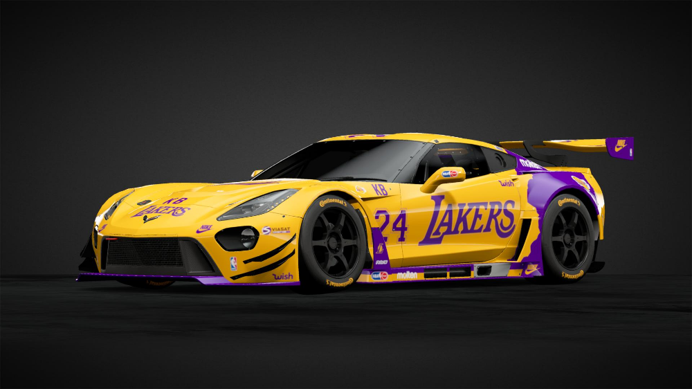 Lakers édition 24 Kobe Bryant Car Livery By Ghost Dog 02 Community Gran Turismo Sport Kobe Bryant Cars Kobe Bryant Kobe