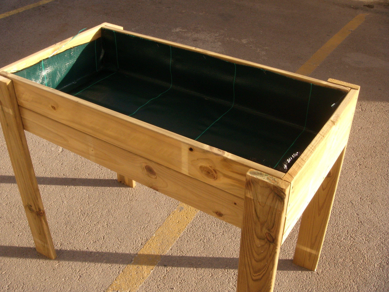 Construcci n de mesa de cultivo pinteres - Mesa de cultivo leroy ...