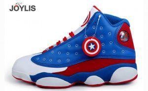 tenga en cuenta Cubeta dictador  Nike Jordan Capitan America | Joylis | Jordan 13, Air jordan shoes, Nike  shoes jordans