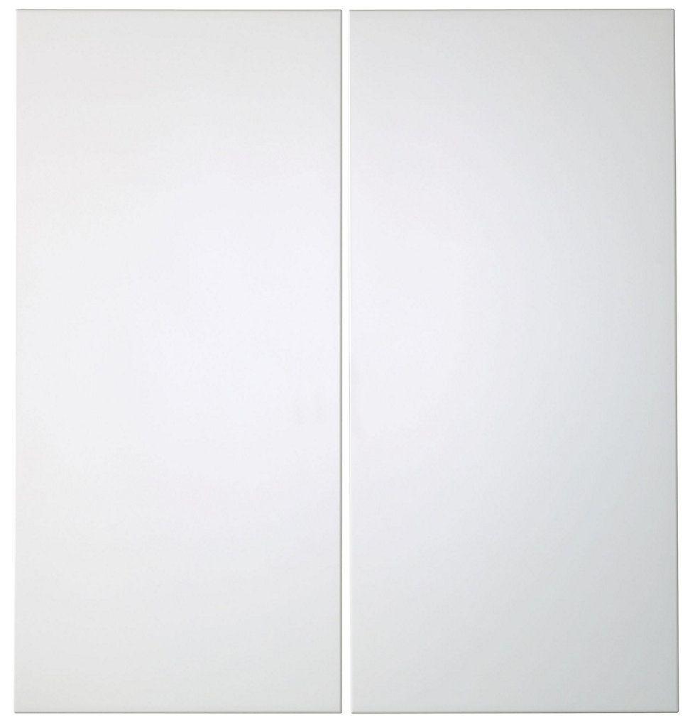 Best It Kitchens Santini Gloss White Slab Corner Base Door W 640 x 480