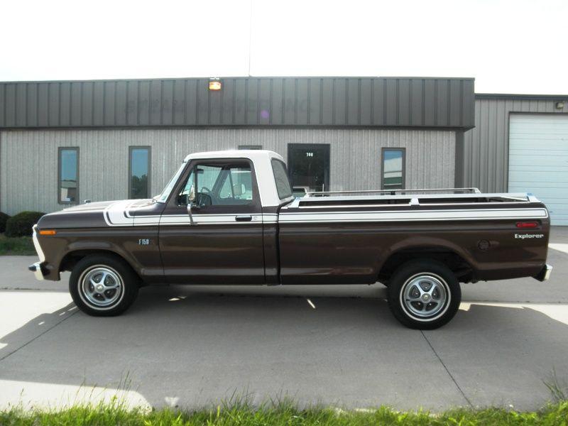 1975 ford f150 explorer pickup truck classic cars pinterest. Black Bedroom Furniture Sets. Home Design Ideas