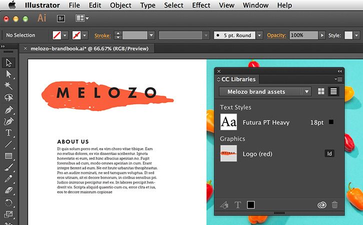 Manage assets with Creative Cloud Libraries | InDesign | Adobe