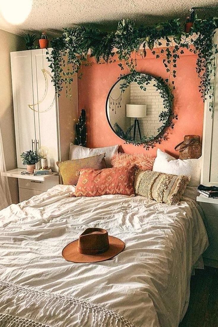 Photo of Idee accoglienti della camera da letto della Boemia per il tuo primo appartamento 2020