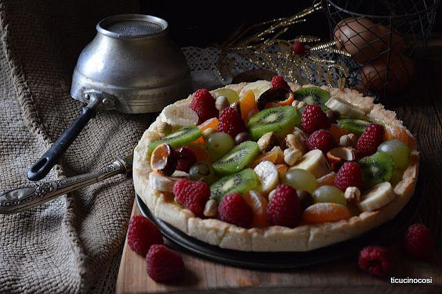 Crostata frutta secca e fresca