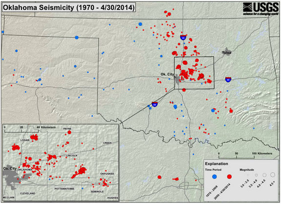 Rare Earthquake Warning Issued for Oklahoma