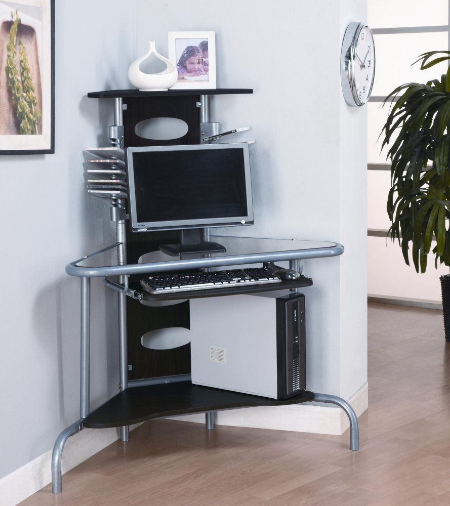 space saving corner desk to utilize unused corner my on smart corner home office ideas id=73204