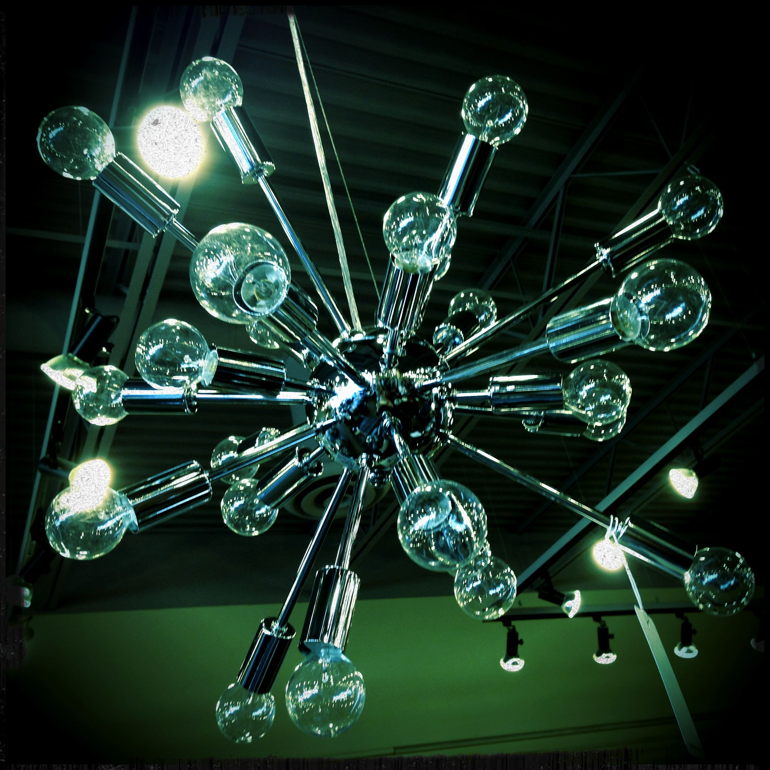 """Pulsar"" pendant light at Urban Barn. Spotted at Urban Barn on Regent in Winnipeg."