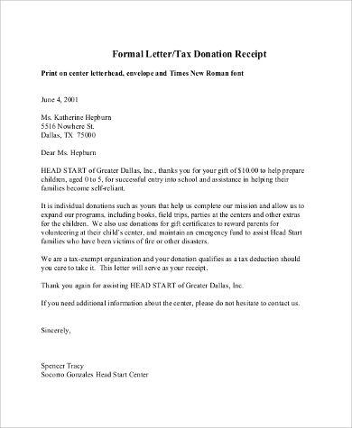 Sample Letter Asking For Donations For School - Letter