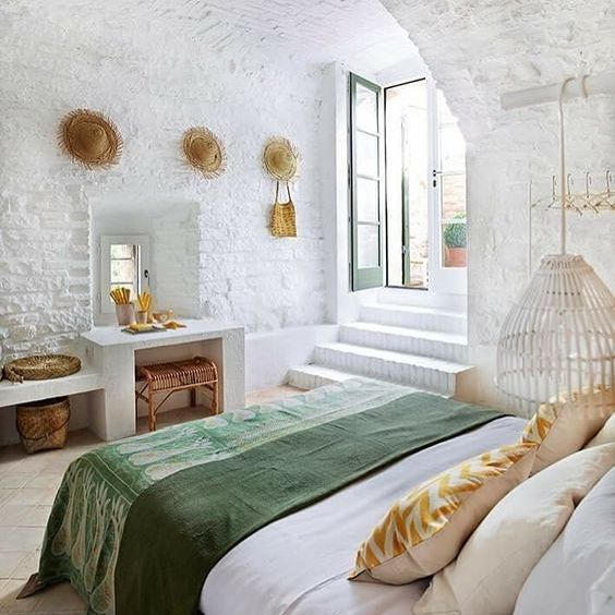 7 Splendid Mediterranean rooms that make your home look like a resort (Daily Dream Decor) is part of  - Still feeling the need for an exotic vacation  Well, this seven Mediterranean inspired rooms will make you want to redecorate your home to prolong summer a little more  Here are a couple of dreamy sug