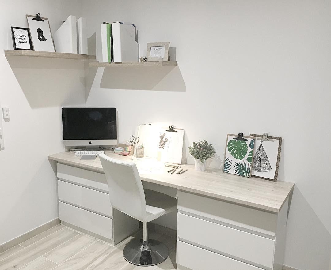 mon nouveau bureau tout beau on aura enfin la place pour travailler dessiner