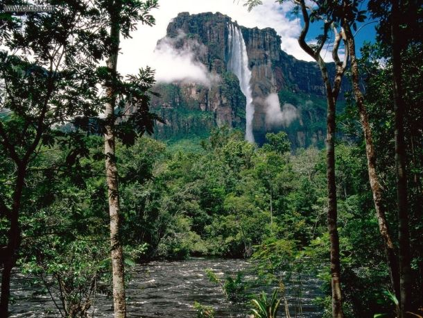 – Angel Falls, Canaima National Park, Venezuela