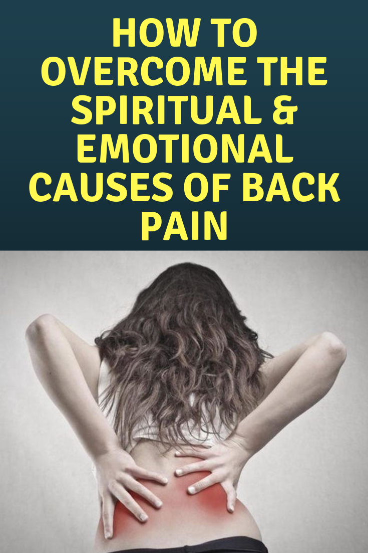 Back Pain - Spiritual Meaning (The Metaphysical Meaning