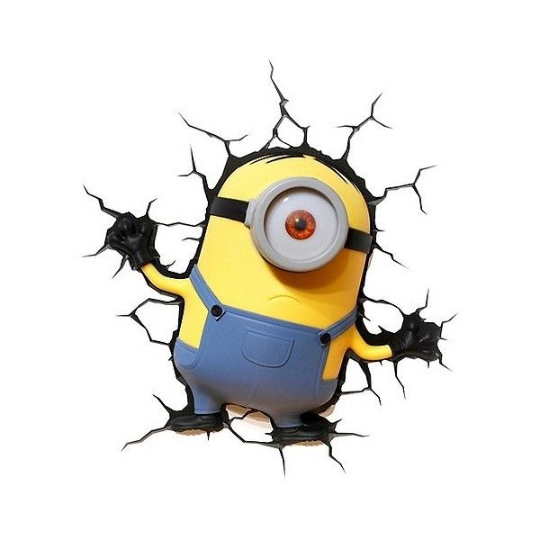 Universal minions 3d wall nightlight 1395 dop liked on universal minions 3d wall nightlight 1395 dop liked on polyvore featuring home aloadofball Image collections