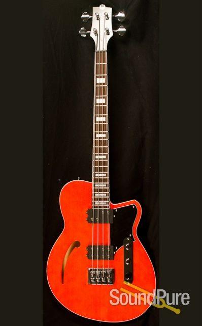 Reverend Dub King Rock Orange Bass Guitar | bass | Guitar