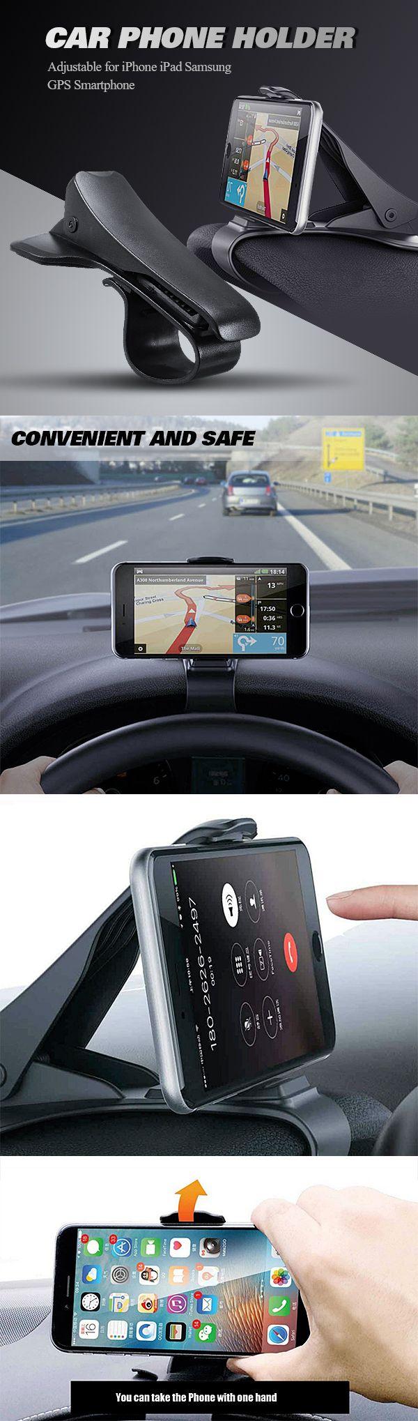 Bakeey atl 1 universal non slip dashboard car mount holder adjustable for iphone ipad samsung gps smartphone