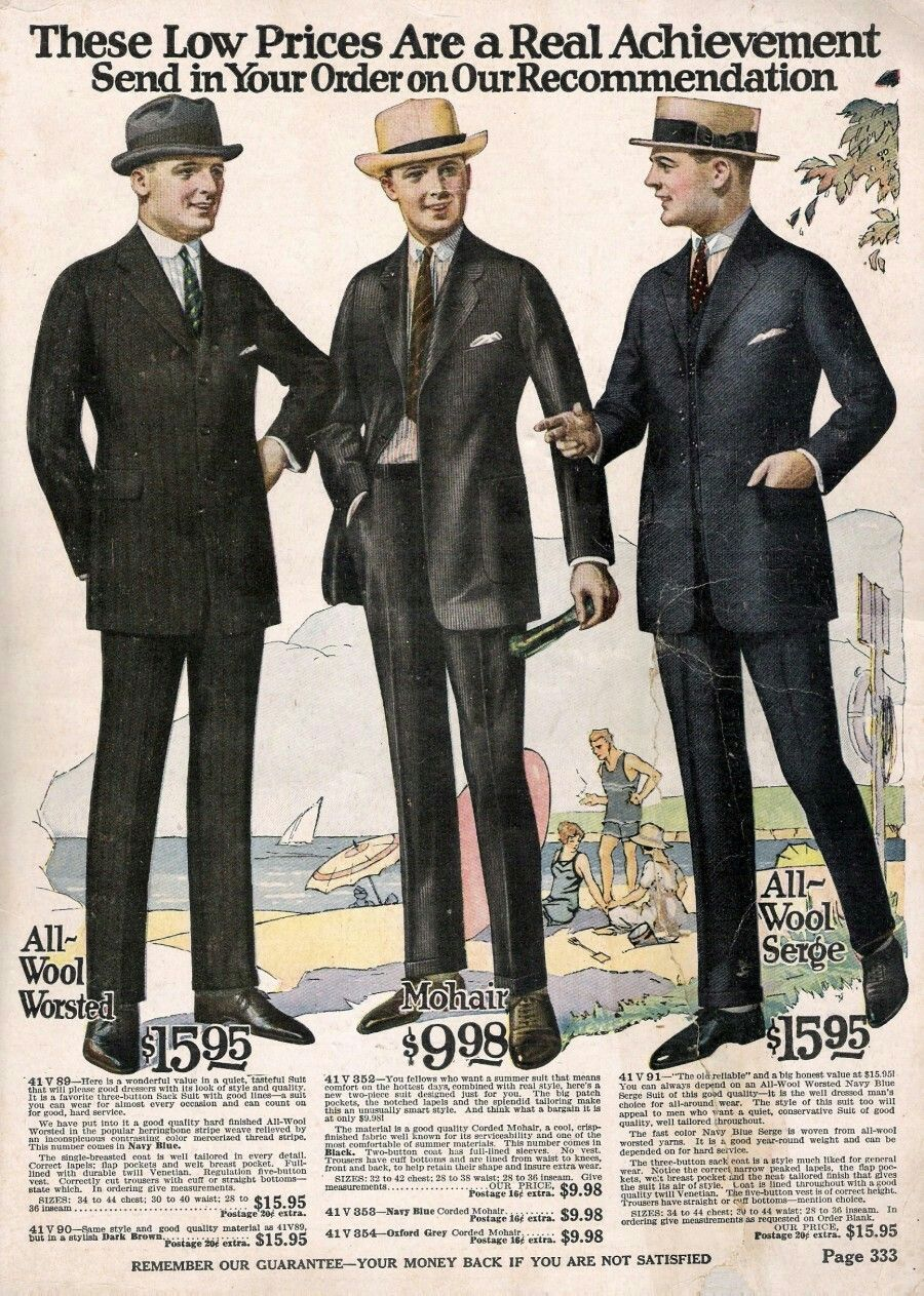 1920s Mens Fashion, 1920s Men, Mens Suit Colors
