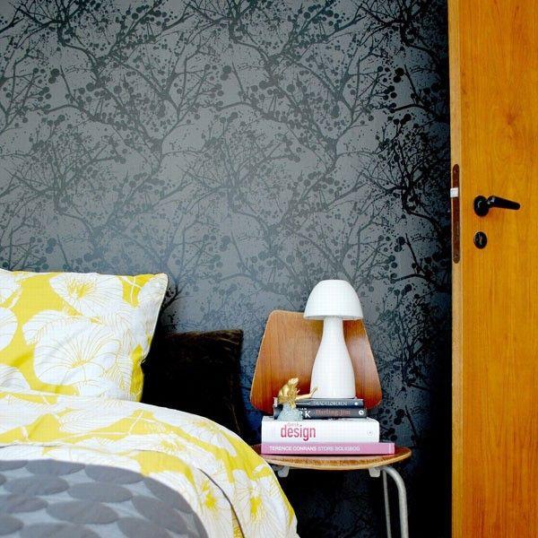 bedroom accent wall wallpaper bedroom ideas pinterest bedroom rh pinterest com