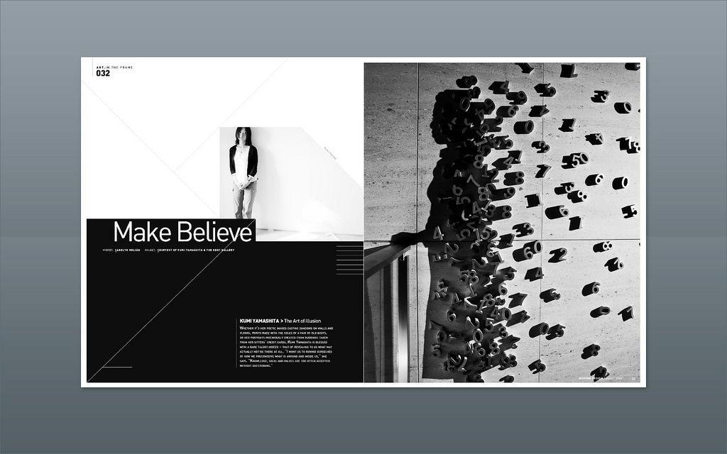 Modern Design Magazine modern design magazine ::: kumi yamashita, the art of shadows