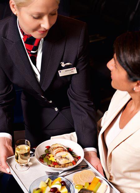 British Airways cabin crew @INFLIGHT TRAVEL OF TOORAK TRAVEL OF