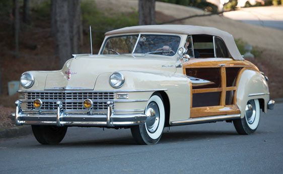 1947 Chrysler Town Country Convertible With Images Chrysler