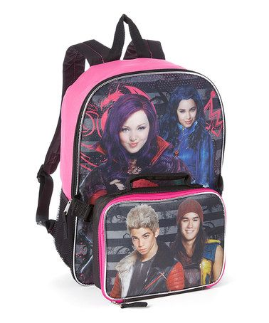 68f9be82004 Loving this Disney Descendants Backpack   Detachable Lunch Bag on  zulily!   zulilyfinds