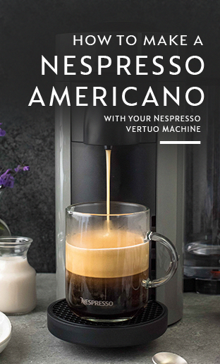 There's no better way to start your morning than with a classic coffee recipe from Nespresso. Use your Nespresso Vertuo coffee machine to make a traditional Americano with the bold taste of freshly brewed espresso. Explore Nespresso's range of coffee capsules to discover your ideal blend. Click here for more at-home coffee brewing tips and tricks. #LatteArt #espressoathome