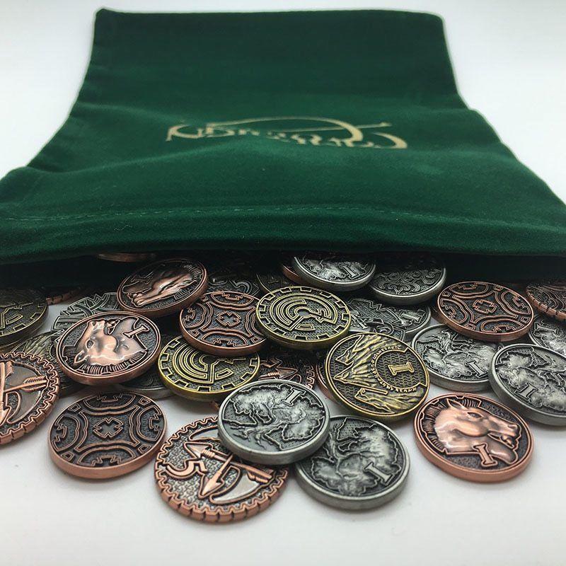 TAVERN RPG COIN STARTER SET fantasy board game metal tokens