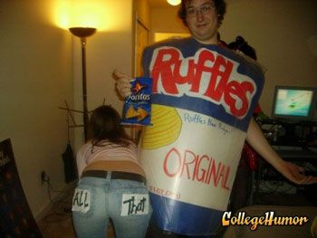 Bag Of Chips Costume