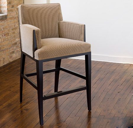 Flea Market 1 Barstool With Arms Dining Chairs Barstools Collection Mattaliano