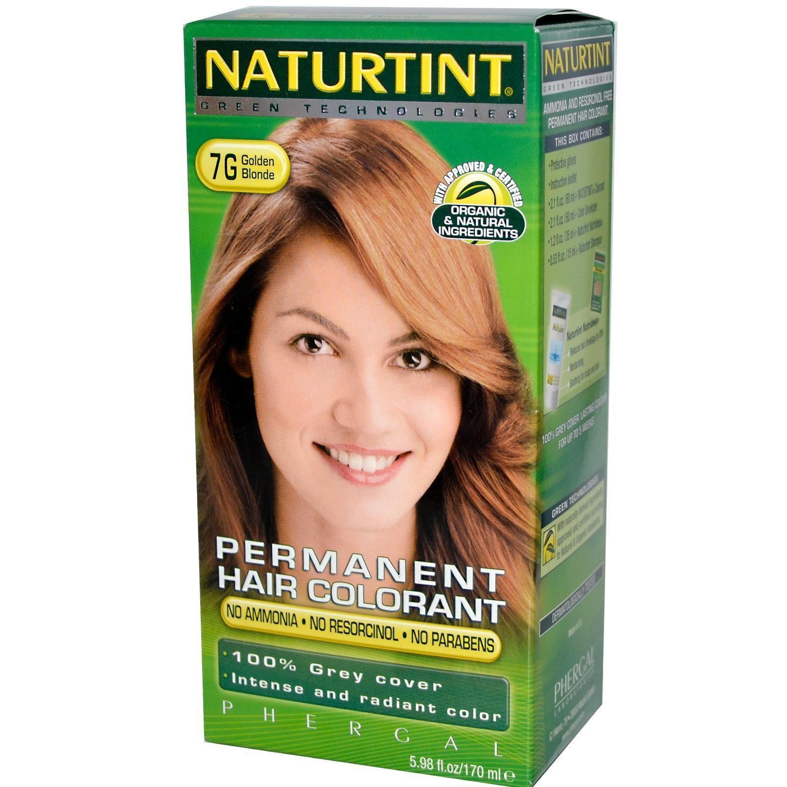 Naturtint 7g Golden Blonde Hair Color 1xkit Golden Blonde