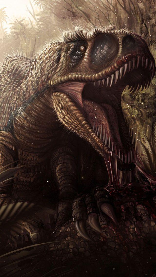 Tyrannosaurus Rex Wallpaper WallpaperSafari