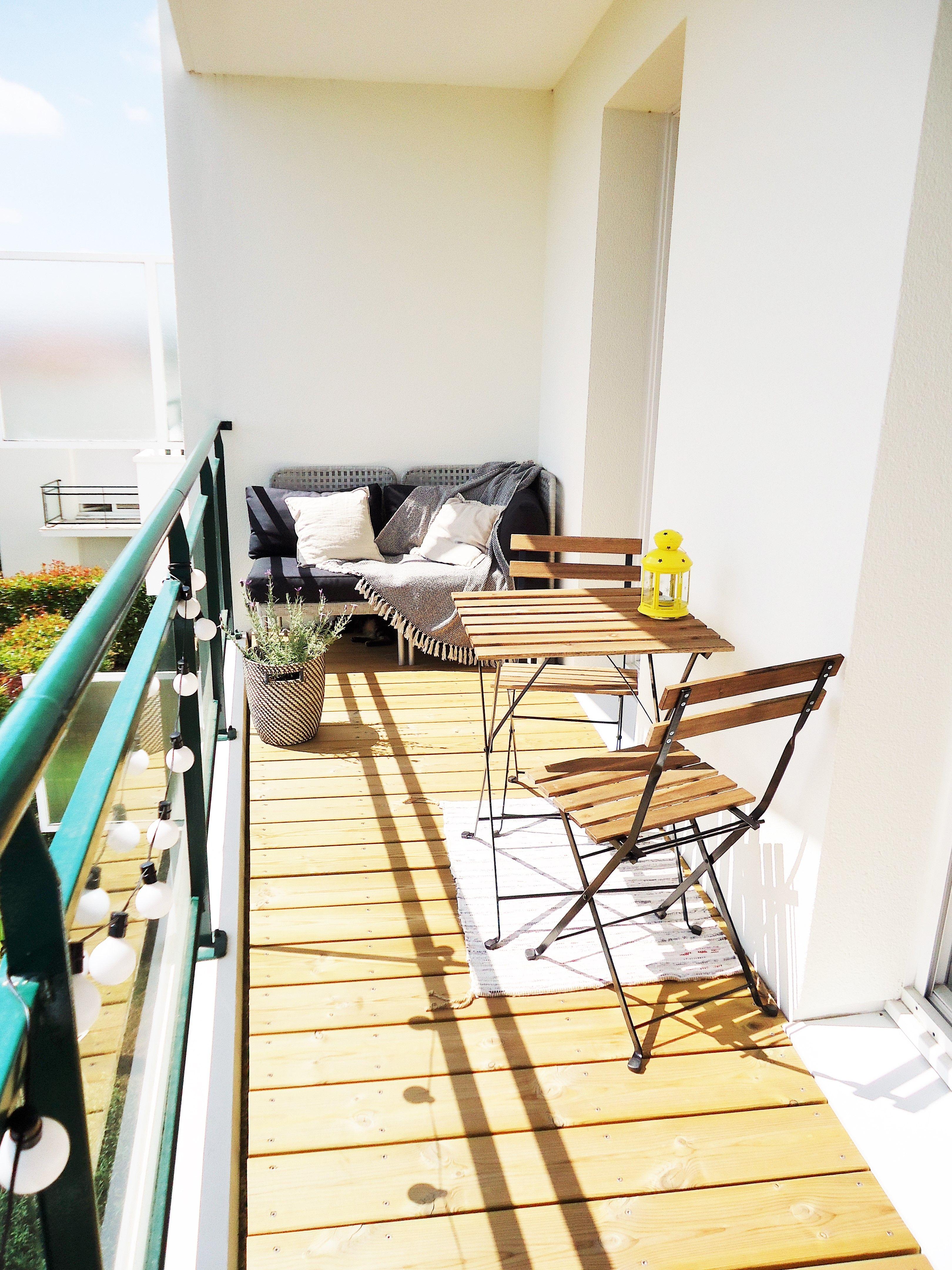 balcon home by marie decoration pinterest balkon neue wohnung et neue wege. Black Bedroom Furniture Sets. Home Design Ideas