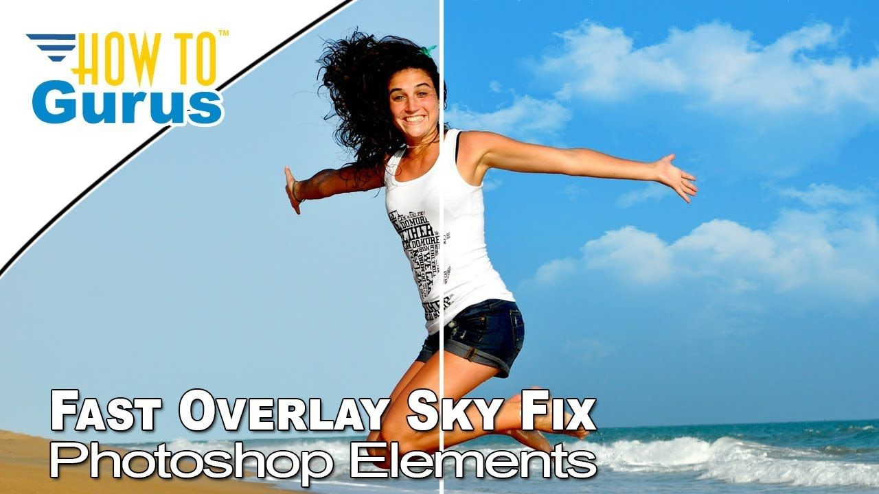 How To Fast Overlay Sky Fix Magic Wand Layer Mask Adobe