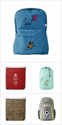 Customized Backpacks - super gift ideas for teens