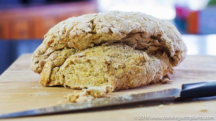 Easy Vegan Irish Soda Bread Recipe