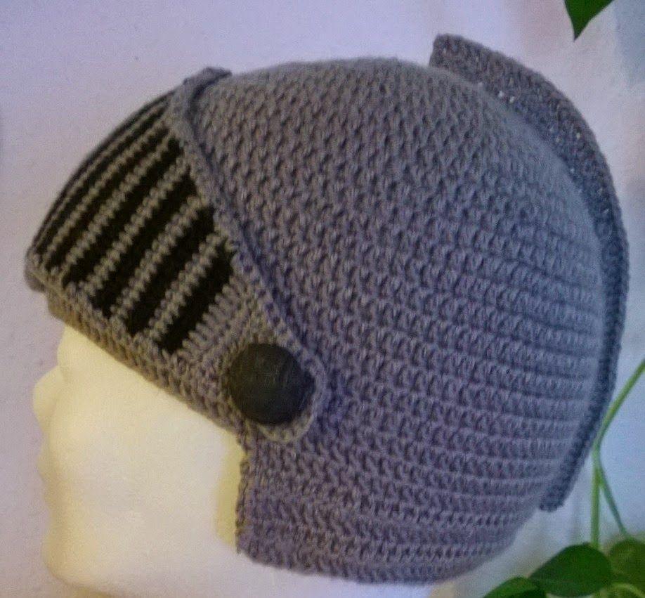 Ritterhelm Gehäkelt Til Knitting Patterns Beanie Und Knitting
