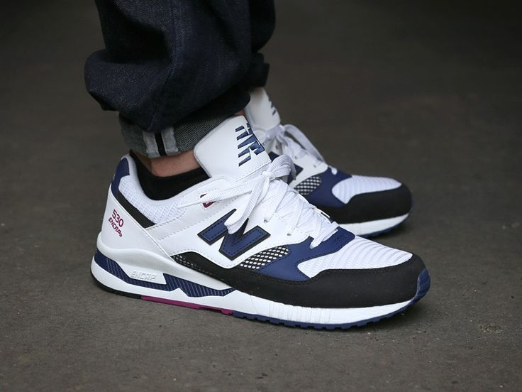 NB 530 AZUL BLANCO | Clothing/Footwear | Pinterest | Trainers, Shoes ...