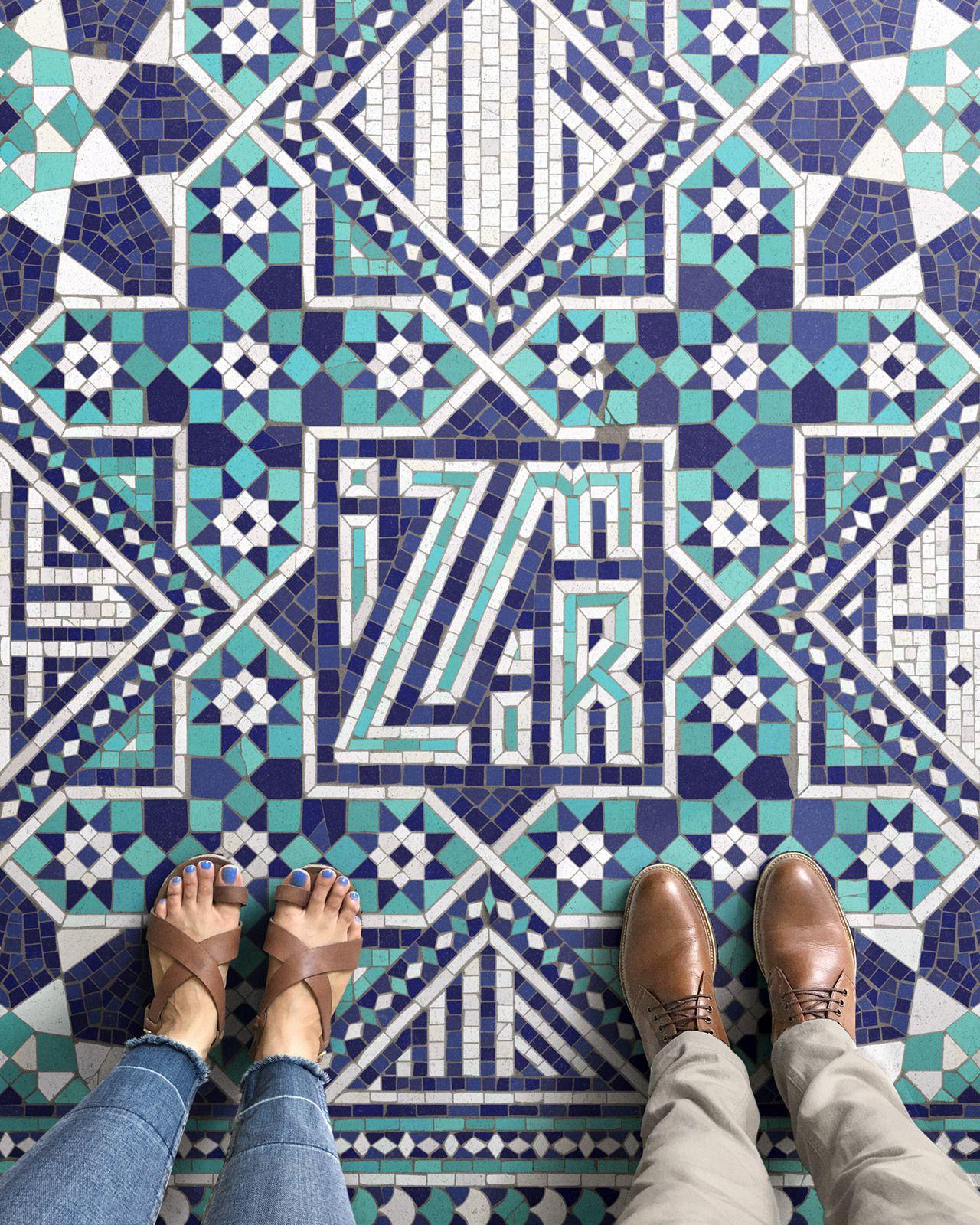 Nick Misani's mosaic work is simply stunning.