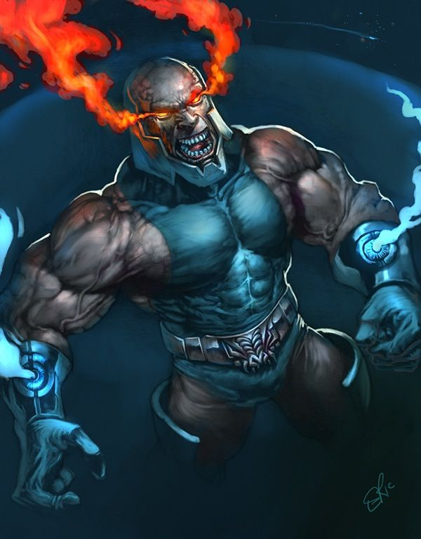 Darkseid by Eric Messinger. | Comic villains, Superhero ...