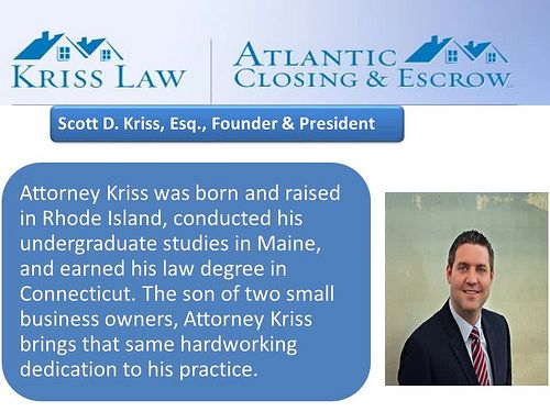 Kriss Law Atlantic Closing Escrow Virginia Settlement Company Escrow Atlantic Undergraduate