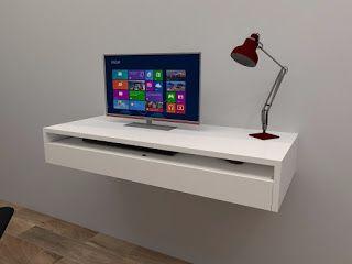 La bodega del mueble escritorio flotante 1 cajon - Bodega del mueble ...