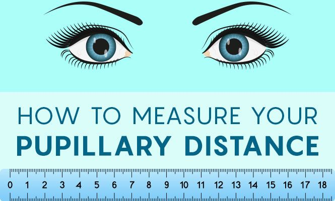 what is the average pupillary distance for females